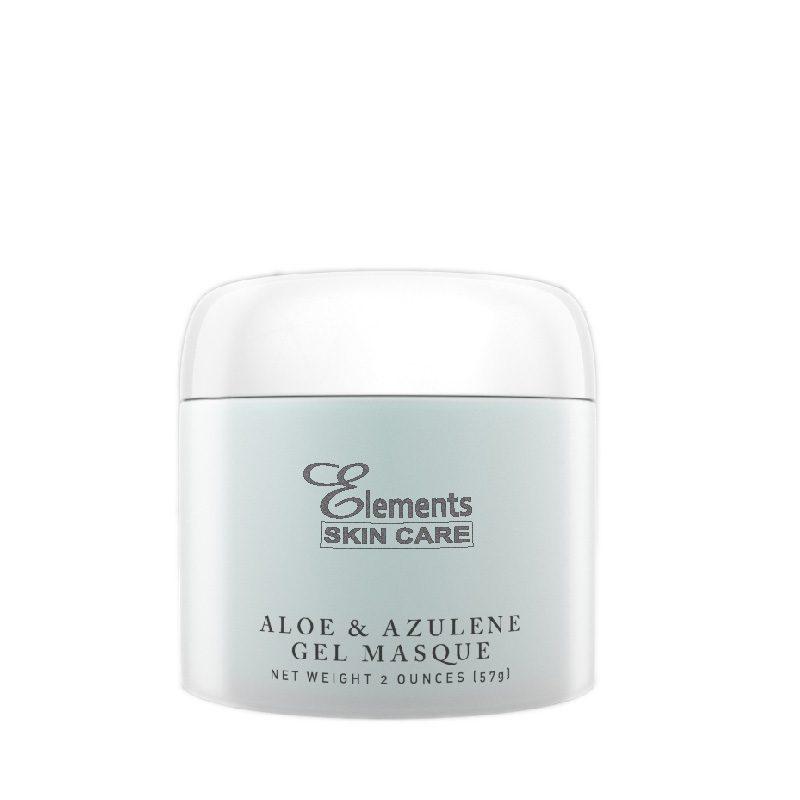 aloe and azulene gel masque